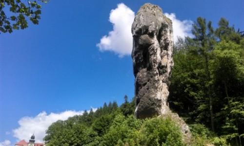 Zdjecie POLSKA / małopolska / OPN.. / maczuga Herkulesa