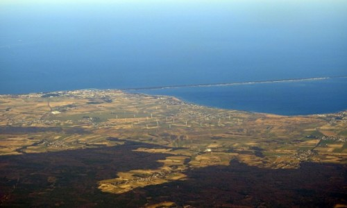 Zdjęcie POLSKA / Pomorskie / Półwysep Helski / Z lotu ptaka