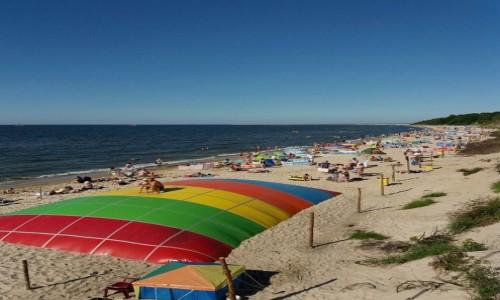 Zdjęcie POLSKA / pomorskie / Kołobrzeg / Widok na plażę
