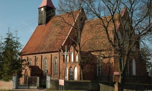 Zdjecie POLSKA / Pojezierze Iławskie / Dobrzyki / Dobrzyki kościół