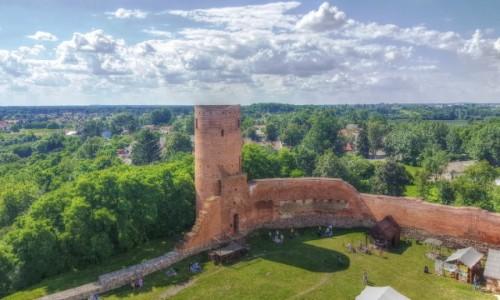 Zdjęcie POLSKA / mazowieckie / Czersk / Ruiny Czerska
