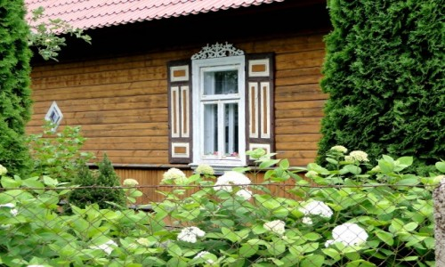 POLSKA / Podlasie / Soce / Z serii: Kraina Otwartych Okiennic (1)