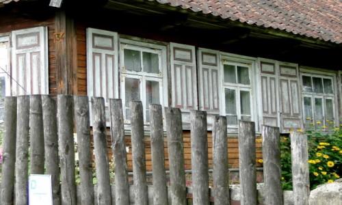 POLSKA / Podlasie / Trześcianka / Z serii: Kraina Otwartych Okiennic (2)