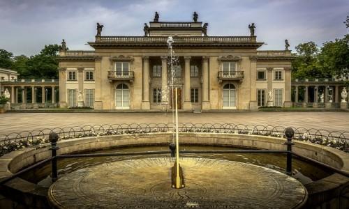 Zdjecie POLSKA / mazowsze / Warszawa / Pałac Na Wyspie