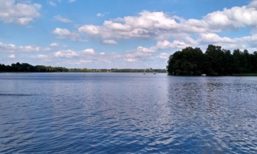 POLSKA / Warmia / Wilimy / jezioro Dadaj...