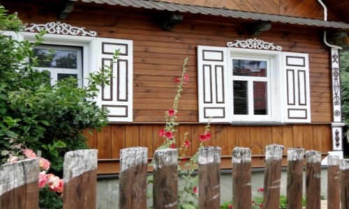 POLSKA / Podlasie / Puchły / Z serii: Kraina Otwartych Okiennic (4)
