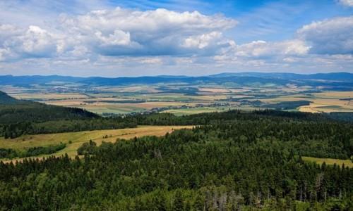 Zdjecie POLSKA / Góry Stołowe / Szczeliniec / po horyzont...