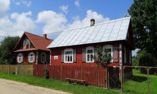 POLSKA / Podlasie / Soce - Kraina otwartych okiennic / Jak w bajce