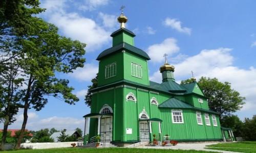 Zdjęcie POLSKA / Podlasie / Trześcianka / Cerkiew w Trześciance