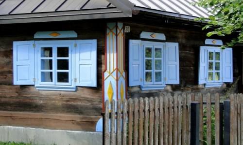 POLSKA / Podlasie / Nowoberezowo / Pozdrowienia z Podlasia - chata w Nowoberezowie