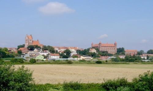 POLSKA / pomorskie / Gniew / Zamek po drodze nad Bałtyk :)