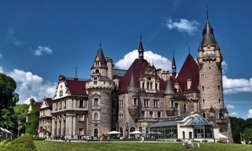 POLSKA / opolskie / Moszna / Pałac w Mosznej