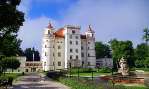 Zdjecie POLSKA / dolnośląskie  / Wojanów / - pałac wojanów -