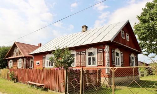 Zdjecie POLSKA / województwo podlaskie / Soce / Malownicze domy
