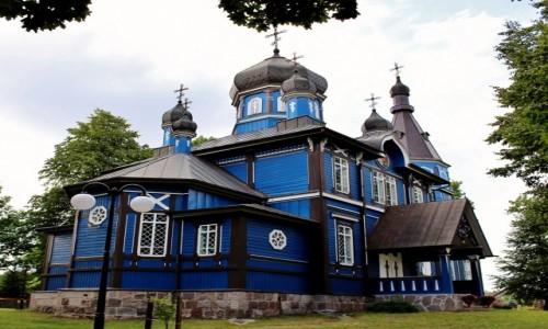Zdjęcie POLSKA / województwo podlaskie / Puchły / Cerkiew Opieki Matki Bożej z 1918 roku