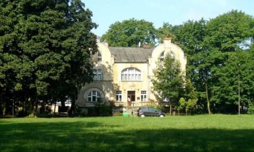POLSKA / wielkopolskie / Doruchów / Pałac ,obecnie biblioteka