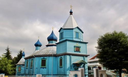 POLSKA / województwo podlaskie / Bielsk Podlaski / Cerkiew św.Michała Archanioła z XVIII wieku