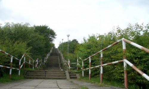 Zdjecie POLSKA / pomorskie / Reda / 420 stopni schodów do ulicy Jarej