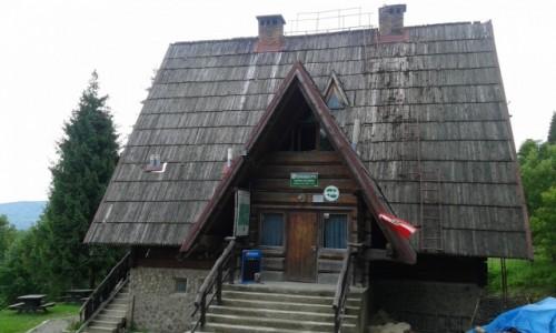 Zdjecie POLSKA / - / Cisna / Bacówka PTTK Pod Honem w Cisnej