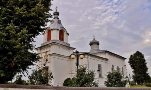 POLSKA / województwo podlaskie / Krynki / Cerkiew Narodzenia Najświętszej Maryi Panny z 1864 roku