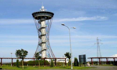 POLSKA / pomorskie / Czymanowo / Wieża zwana kaszubskim okiem.