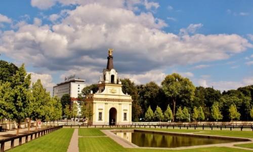 POLSKA / województwo podlaskie / Białystok / Brama Wielka Pałacu Branickich z 1758 roku