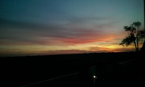 Zdjecie POLSKA / - / wielkopolska / Wschód słońca .....w drodze do pracy