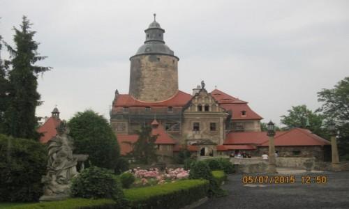 POLSKA / - / Sucha, gmina Leśna / Zamek Czocha – obronny zamek