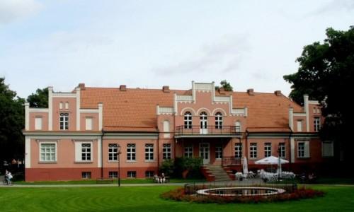 POLSKA / pomorskie / Wejherowo / Pałac w parku