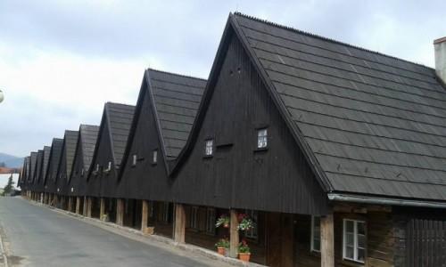 Zdjecie POLSKA / - / Chełmsko Śląskie / Domy Tkaczy w Chełmsku Śląskim
