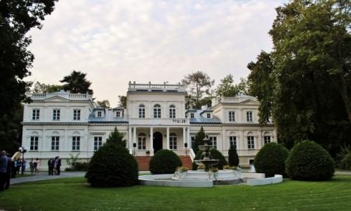 Zdjęcie POLSKA / województwo łódzkie / Wola Chojnata / Pałac Chojnata z 1873 roku
