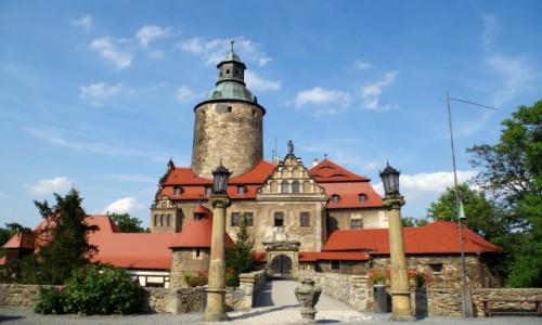 Zdjecie POLSKA / dolnośląskie / Sucha / - zamek Czocha -