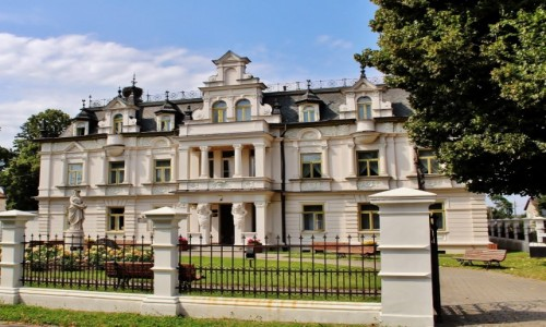 Zdjecie POLSKA / województwo podlaskie / Supraśl / Secesyjny pałac Buchholtzów/1892-1903/
