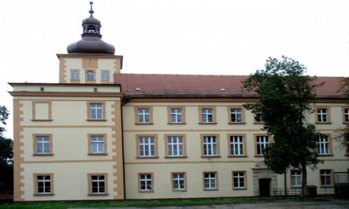 Zdjecie POLSKA / opolskie / Prószków / Widok zamku od strony wschodniej