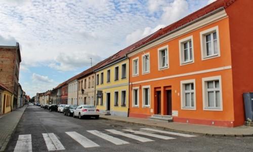 POLSKA / województwo kujawsko-pomorskie / Chełmno / Ulica 22 Stycznia