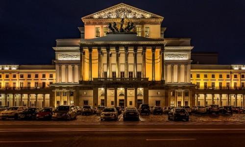 POLSKA / mazowsze / Warszawa / Teatr Wielki