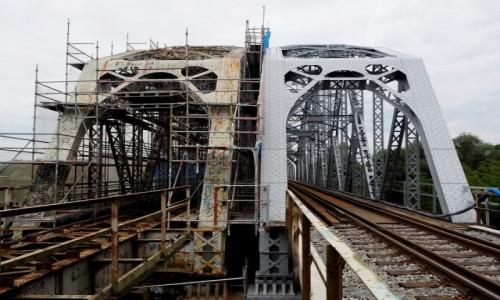 Zdjęcie POLSKA / Podlasie / Frołonów / Most kolejowy
