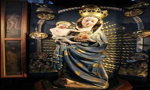 POLSKA / Gdańsk / Bazylika Mariacka / Piękna Madonna Gdańska