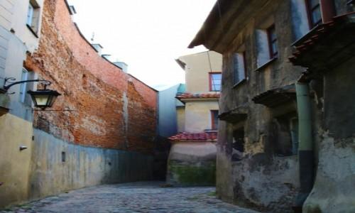 Zdjęcie POLSKA / - / Lublin / Lubelskie zaułki