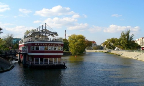 Zdjęcie POLSKA / dolnośląskie / Wrocław / Restauracja na wodzie