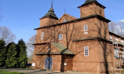 POLSKA / Podlasie / Narew / Podlasie -kościół we wsi Narew.