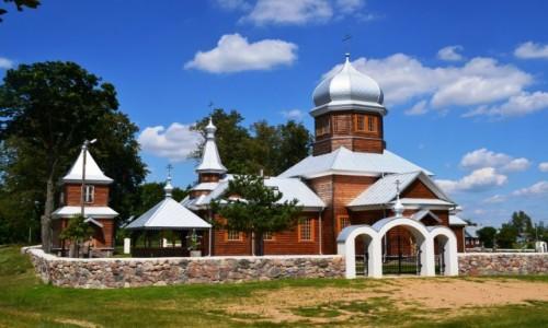 Zdjęcie POLSKA / Podlasie / Zubacze / Drewniane cerkwie Podlasia