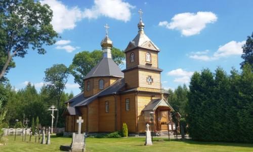 Zdjecie POLSKA / Podlasie / Telatycze / Drewniane cerkwie Podlasia