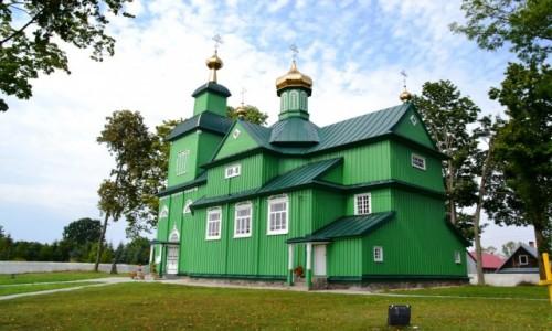 Zdjecie POLSKA / Podlasie / Trześcianka / Drewniane cerkwie Podlasia