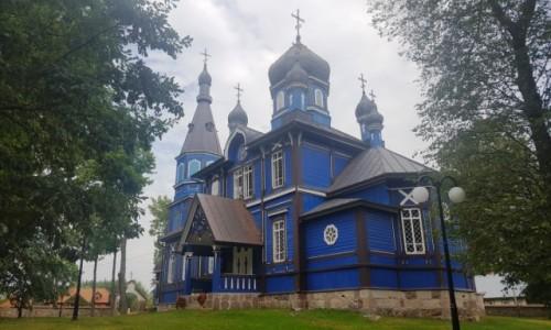 Zdjecie POLSKA / Podlasie / Puchły / Drewniane cerkwie Podlasia