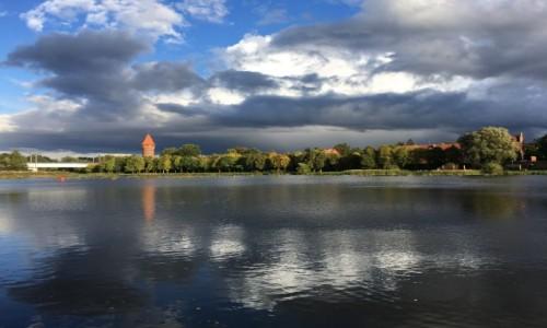 Zdjęcie POLSKA / Pomorze / Malbork / Rzeka Nogat