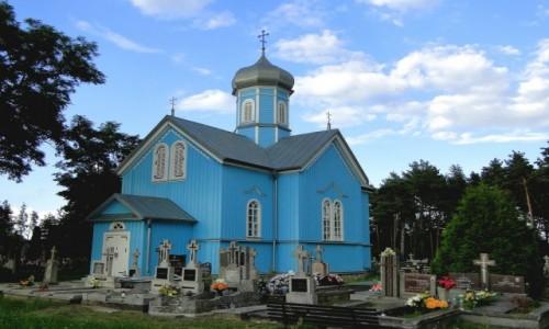 Zdjecie POLSKA / Podlasie / Ryboły / Cerkiew pod wezwaniem św. Jerzego