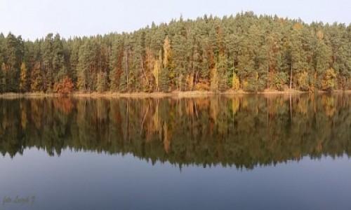 Zdjęcie POLSKA / Pojezierze Iławskie. / Jezioro Czyste - Smolniki.(Jezioro Jasne) / W poszukiwaniu Pani Jesieni. Panorama.