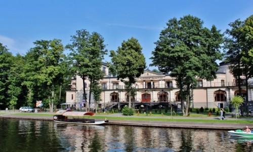 Zdjęcie POLSKA / województwo podlaskie / Augustów / Pałac na wodzie