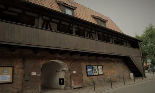 Zdjęcie POLSKA / Pomorze / Gdańsk / Gdańsk, dawny klasztor franciszkański.